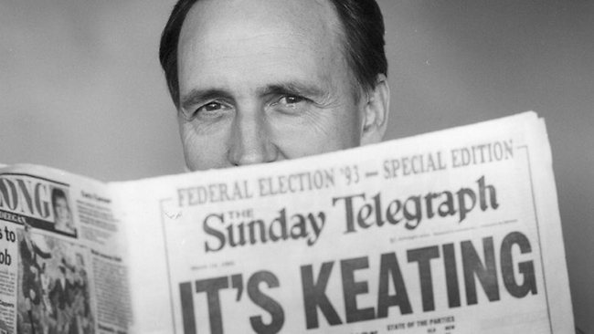 Keating, neither matinee idol nor rock god