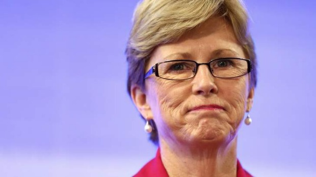 Was Christine Milne pushed or did she jump?