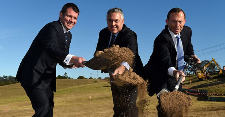 Just stop digging! Joe Hockey's housing hate spiral