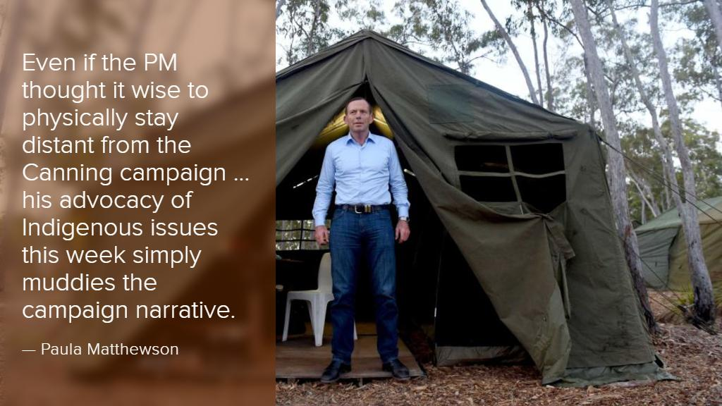 Abbott's mind should be on Canning, not Cape York