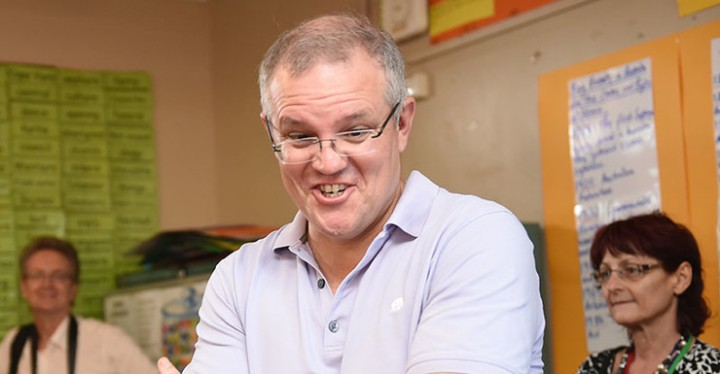 The joke that put Scott Morrison in troubled waters