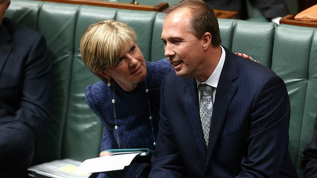 Bishop, Dutton gaffes on camera