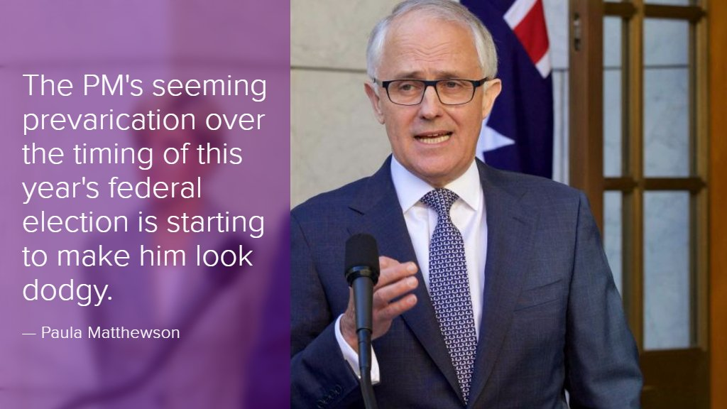 Turnbull looks more dodgy than decisive these days