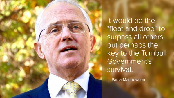 Turnbull might have to ditch the double dissolution