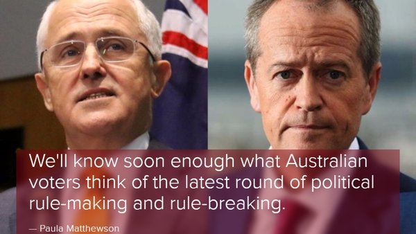 Labor and Coalition rewrite the campaignplaybook