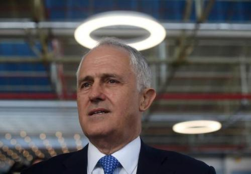 Australian Prime Minister Malcolm Turnbull is seen during an event at Flinders University in Adelaide, Australia, May 13, 2016 during campaigning before the July 2 federal election.  AAP/Lukas Coch/via REUTERS