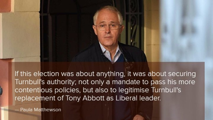 Turnbull is a leader besieged on all sides