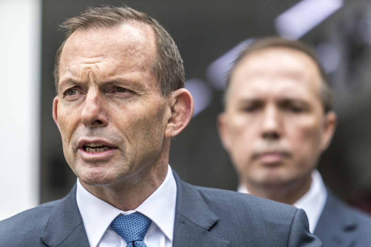 Peter Dutton is eyeing Tony Abbott's role as far right leader