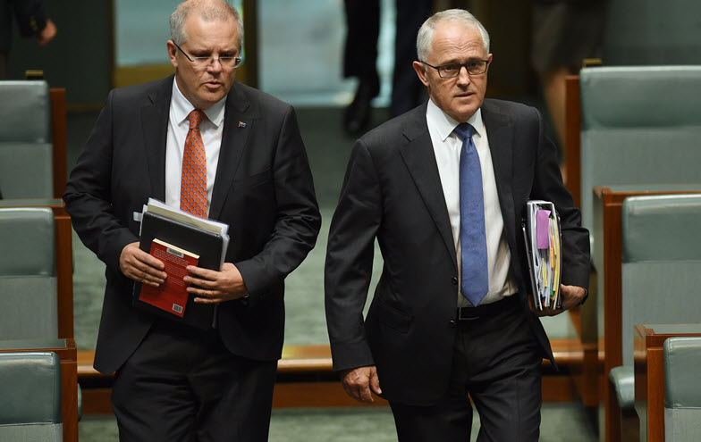 Even negotiating company tax cuts can become another 'leadership test' for Turnbull