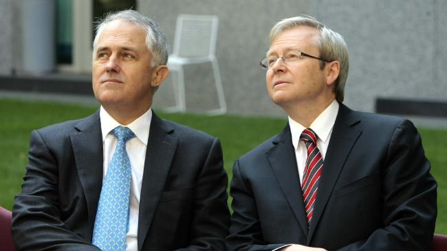 Turnbull's new political strategy channels Rudd