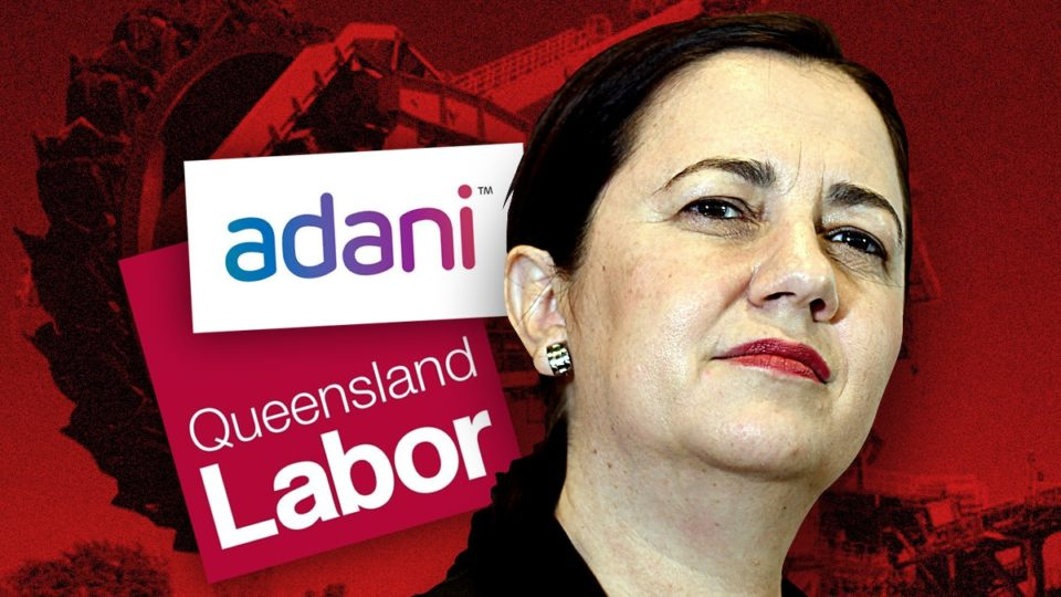 Adani: Queensland's feuding Labor factions risk chucking re-election hopes down a coal mine