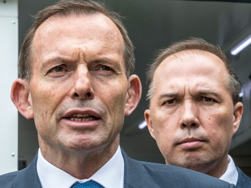 Tony Abbott's plan for revenge has gone horribly wrong