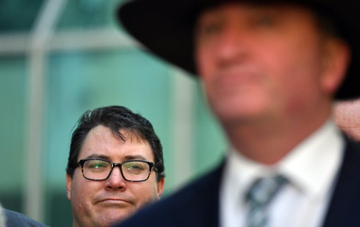 George Christensen and the dark art of going 'faux-rogue' to woovoters